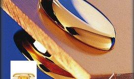 KD FN1560 GD - distanční prvek zlatá lesk